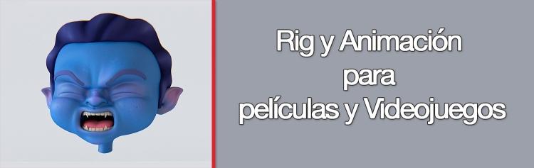 Curso Universitario de Rig y Animación para películas y Videojuegos_portada